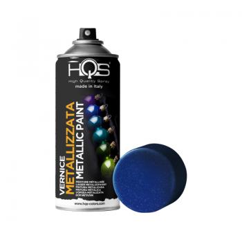Vernice spray metallizzata 7 tonalità 400ml Hqs