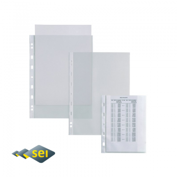 SEI ROTA Atla T100 busta forata trasparente liscio 100 µm...