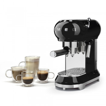 Smeg Espresso-Kaffeemaschine 50's Retro Style
