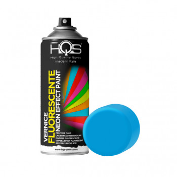 Vernice fluorescente 6 tonalità 400ml Hqs