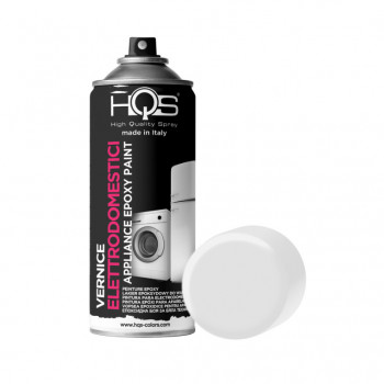 Vernice per elettrodomestici 2 tonalità spray 400ml Hqs