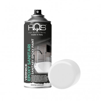 Vernice epoxy per sanitari bianco Spray 400ml Hqs