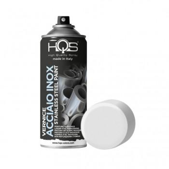 Vernice acciaio inox spray 400ml Hqs