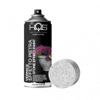 Vernice effetto pietra 3 tonalità spray 400ml Hqs