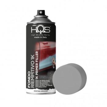 Fondo riempitivo 1K primer filler 2 tonalità spray 400ml Hqs