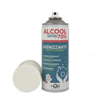 Igienizzante per superfici e oggetti 400ml Spray Alcool...