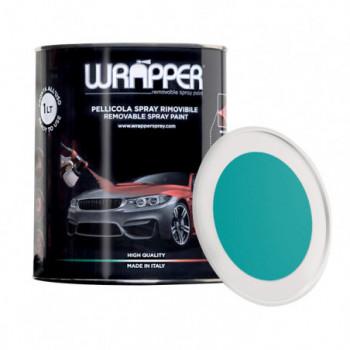 RAL 5018 Blu turchese Pellicola spray removibile 1 Litro...