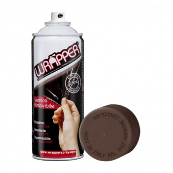 RAL 8017 Schokoladenbraun Ablösbare Sprühfolie 400ml Wrapper