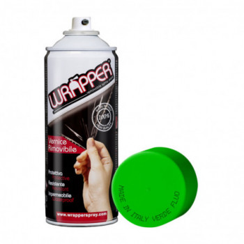 Verde Fluo Pellicola spray removibile 400ml Wrapper
