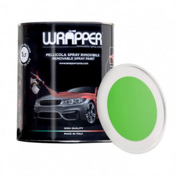 Verde Kawasaki Pellicola spray removibile 1 Litro Wrapper