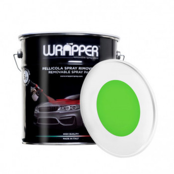 Verde Kawasaki Pellicola spray removibile 5 Litri Wrapper