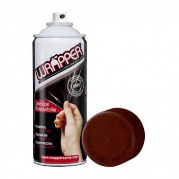Bronzo metallizzato Pellicola spray removibile 400ml Wrapper