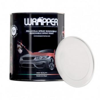Transparent glänzend Ablösbare Sprühfolie 1 Liter Wrapper