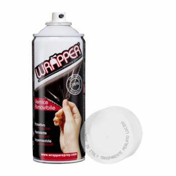 Trasparente perlato lucido Pellicola spray removibile...