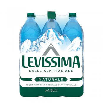 Levissima 6 bottiglie x 1,5 litri acqua minerale