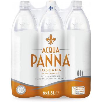 Acqua Panna 6 bottiglie x 1,5 litri acqua minerale