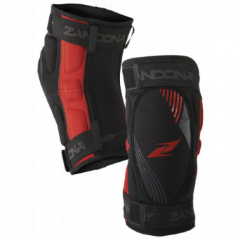 Zandona Soft Active Kneeguard Short Nero/rosso