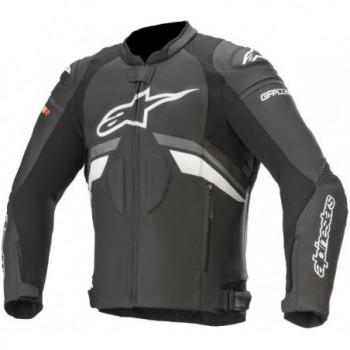 Alpinestars GP Plus R V3 Leather Jacket Nero/grigio/bianco
