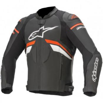 Alpinestars GP Plus R V3 Leather Jacket Nero/bianco/rosso...