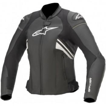 Alpinestars Stella GP Plus R V3 Leather Jacket Nero/bianco