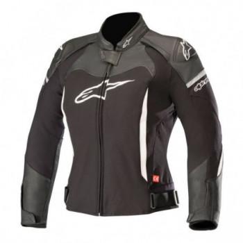 Alpinestars Stella SP-X Lady Leather Jacket Nero/bianco