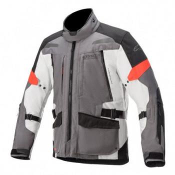 Alpinestars Valparaiso V3 Drystar® Jacket Grigio/nero/rosso