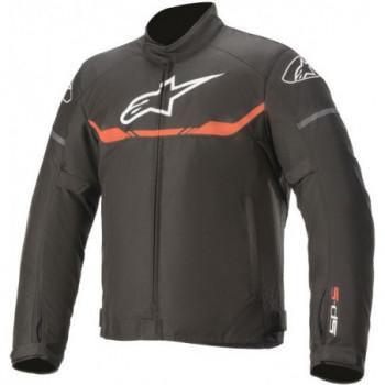 Alpinestars T-SP S Waterproof Jacket Nero/rosso fluo