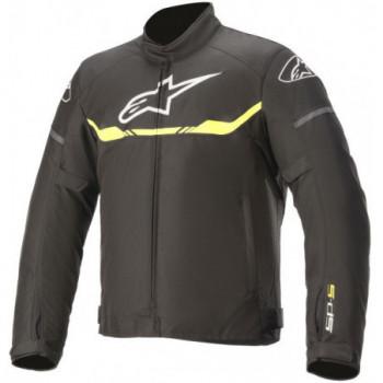 Alpinestars T-SP S Waterproof Jacket Nero/giallo fluo
