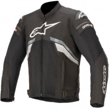 Alpinestars T-GP Plus R V3 Air Jacket Nero/grigio/bianco