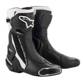 Alpinestars SMX Plus V2 Boots Nero/bianco