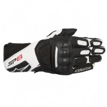 Alpinestars SP-8 V2 Gloves Nero/bianco