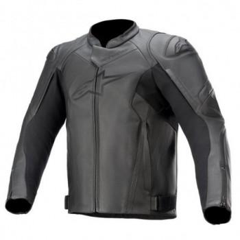 Alpinestars Faster V2 Leather Jacket Nero