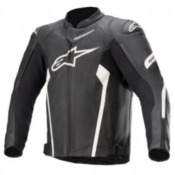 Alpinestars Faster V2 Leather Jacket Nero/bianco