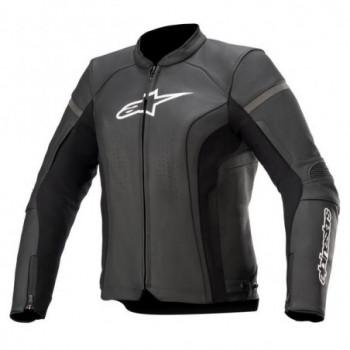 Alpinestars Stella Kira V2 Leather Jacket Nero