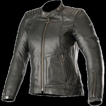 Alpinestars Stella Gal Leather Jacket Nero