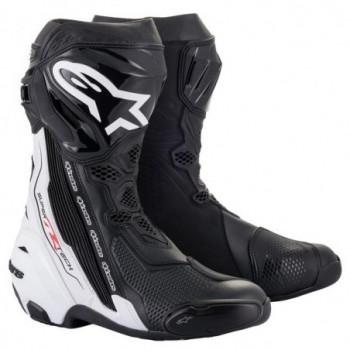 Alpinestars Supertech R V2 Boots Nero/bianco