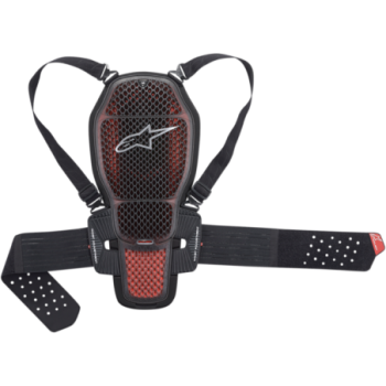 Alpinestars Nucleon KR-1 Cell Back Protector Nero/rosso
