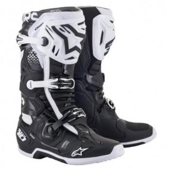 Alpinestars Tech 10 Cross Boots Nero/bianco