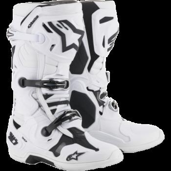 Alpinestars Tech 10 Cross Boots Bianco/nero/grigio