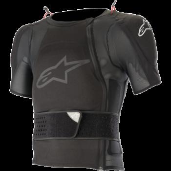 Alpinestars Sequence Protection Jacket — Short Sleeve Nero