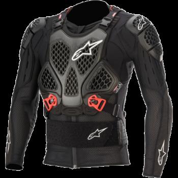 Alpinestars Bionic Tech V2 Protection Jacket Nero/rosso