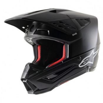 Alpinestars SM5 Solid Helmet Nero