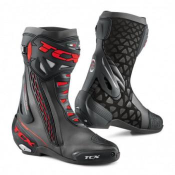 TCX RT-Race Boots Nero/rosso