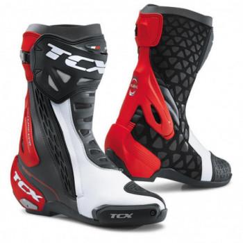 TCX RT-Race Boots Nero/bianco/rosso