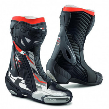 TCX RT-Race Pro Air Boots Nero/grigio/rosso